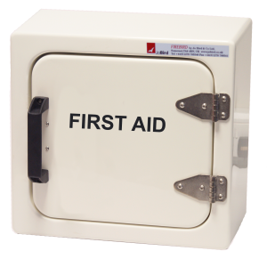 JB04 First aid cabinet in white RAL 9010