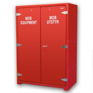 JB17.600FE 4 x Fire fighter's equipment cabinet