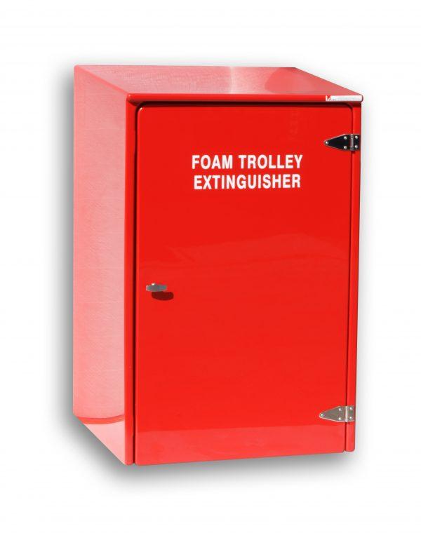JB65 Wheeled extinguisher cabinet