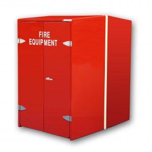 JB68 Wheeled fire trolley cabinet