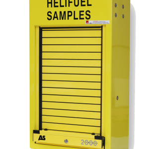 RS700 Helifuel sample cabinet