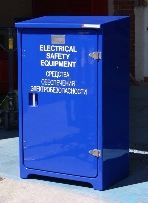 JB10 Electrical safety in blue