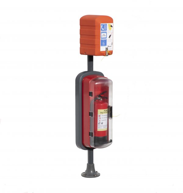 SOS603T with foam fire extinguisher