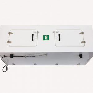JB76 Overhead lifejacket cabinet