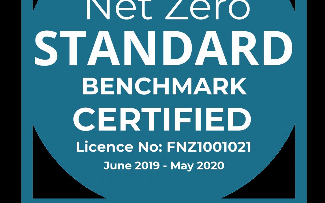 Future net zero badge